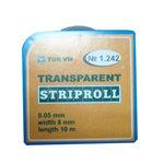 Matrisband Klar, Striproll 8mm x 10m