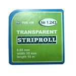 Matrisband Klar, Striproll 10mm x10m