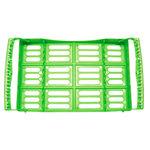 Atria handinstrument bricka, stor 10 instrument grön