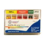 Guttaperka One File GOLD # Sortiment S-P-M-L fargkod 60 st